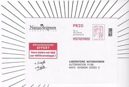 PAP Réponse CIAPPA- KAVENA ___ NATURAVIGNON. 17P026 - Entiers Postaux