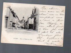 Givry (71 Saone Et Loire) Rue De L'hotel De Ville  1903 (PPP4610) - France