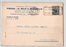 13455 02 VETRERIA ARTISTICA PINZAN DE MAJO PAVANELLO MURANO VENEZIA X VITTORIO VENETO - 6. 1946-.. Repubblica
