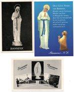 Banneux Olv Notre Dame Madone Madonna 3 Stuks Pcs - Virgen Maria Y Las Madonnas