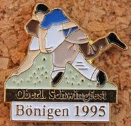LUTTE SUISSE - OBERL. SCHWINGFEST BÖNIGEN 1995 - FETE DE LUTTE     -          (10) - Wrestling