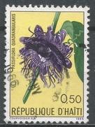 Haiti 1965. Scott #536 (U) Fleur, Flower: Passionflower * - Haïti
