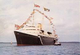 SHIPPING - J ARTHUR DIXON -  HM ROYAL YACHT BRITANNIA Ship76 - Dampfer