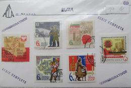 URSS 1964 - 6 Timbres Série Complète - 20 Ans Après La Guerre - Roumanie Pologne Belgrade Bulgarie Mongolie RDA - 1923-1991 URSS