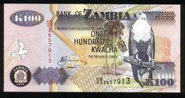 Sambia - Zambia 2010, 100 Kwacha - UNC - KB 03 2857913 - Sambia