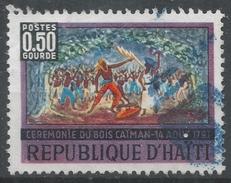 Haiti 1968. Scott #583 (U) Caiman Woods, By Raoul Dupoux * - Haïti