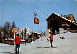 05 - LE MONETIER-LES-BAINS - Station De Ski - Club Med - Téléphérique - France