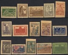 1921 - 1922 -:- Azerbaidjan - République Socialiste Fédérative Soviétique - Série Complète  -** Et *  - Voir Scans -