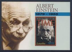 Lesotho 2005 B201 = Mi 1946 ** Albert Einstein (1879-1955) German Physicist, Nobel Prize 1921
