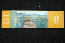 Finlande Carnet Europa 2002 Oblitéré Oiseaux Poissons