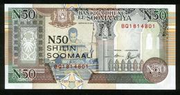 Somalia Soomaaliya 1991, N 50 Shilin Shillings - UNC - BQ1814801 - Somalie