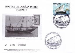 FDC N° 81 - Mayotte (1892-2011)