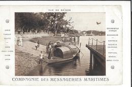 16540 - Compagnie Des Messageries Maritimes Vue De Saïgon - Viêt-Nam
