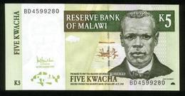 Malawi 2005, 5 Kwacha - UNC - BD4599280 - Malawi