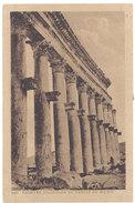 Cpa Liban / Syrie - Palmyre - Colonnade Du Temple Du Soleil ( éditeur Sarrafian ) - Syrie
