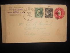 Etats Unis Lettre De Fremont 1924 Pour Tindja - Vereinigte Staaten