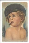 16544 - Petit Marin Au Cigare Portrait Par Albani - Illustrateurs & Photographes