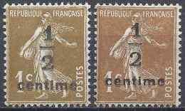 FRANCE SEMEUSE N°279A + N°279B NEUF ** LUXE GOMME D'ORIGINE MNH - France