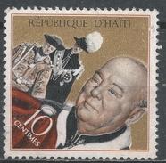 Haiti 1968. Scott #604 (U) Winston Churchill As Knight Of The Garter * - Haïti