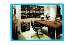 Cpm - 21 - CHENOVE - Publicité OBBO-DIJON - 1971 - Mobilier DESIGN SH - Fauteuil Téléphone Cheminée Cendrier - Publicité
