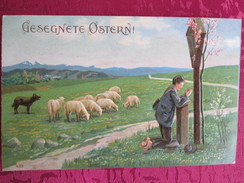 GESEGNETE OSTERN . MOUTON PAQUES . CACHET ROTHAU 67 - Other