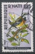 Haiti 1969. Scott #614 (U) Bird Of Haiti: Stripe-headed Tanager * - Haïti