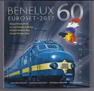BELGIE -BELGIQUE EUROMUNTEN BU-set 2017 -  BENELUX - 60 Jaar Beneluxtrein - Belgique