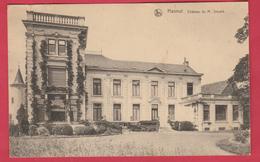 Hannut - Château De M. Snyers - 1927  ( Voir Verso ) - Hannut