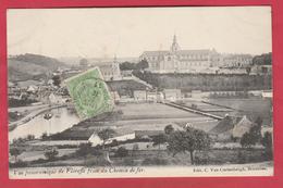 Floreffes - Vue Panoramique , Prise Du Chemin De Fer - 1911  ( Voir Verso ) - Floreffe