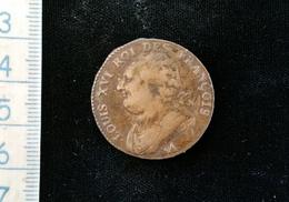 Monnaie France, Louis XVI, 12 Deniers , 1791 .A - 1789-1795 Monnaies Constitutionnelles