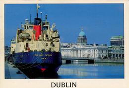 SHIPPING - RIVER LIFFEY DUBLIN - GUINNESS BOAT Ship101 - Dublin