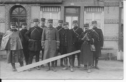 1914 Le Havre Officiers Du 129ème R.I Différentes Tenues 1 Carte Photo 1914-1918 Ww1 - War, Military