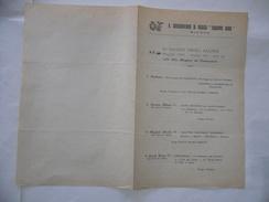 VOLANTINO REGIO CONSERVATORIO DI MUSICA GIUSEPPE VERDI MILANO 1930. - Programs