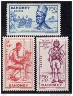 Dahomey N° 142 / 44 XX  Défense De L´Empire Les 3 Valeurs   TB