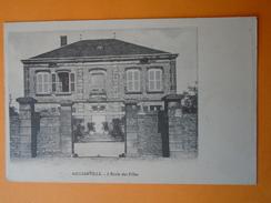 Cpa Haute Marne -- AILLIANVILLE -- Ecole Des Filles - France