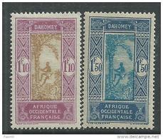 Dahomey  N° 93+ 95 XX   Les 2 Valeurs Sans  Charnière,  TB
