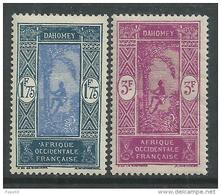 Dahomey  N° 97+ 98 XX   Les 2 Valeurs Sans  Charnière,  TB