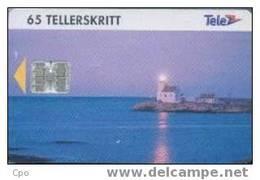 # NORWAY 25 Lighthouse At Lyngor 65 Sc7 04.94 Bon Etat - Norvège