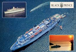 "SHIPPING - ""BLACK PRINCE""  Ship110 - Steamers"
