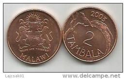 Malawi 2  Tambala 2003. UNC KM#34a - Malawi