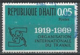 Haiti 1969. Scott #621 (U) ILO Emblem, 50th Anniv. * - Haïti