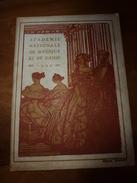 1924  ACADEMIE NATIONALE De MUSIQUE Et De DANSE - Gazette De L'Opéra (voir Les Photos Des Artistes Et Publicités) - Programmes