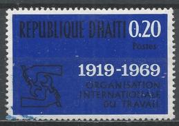 Haiti 1969. Scott #623 (U) ILO Emblem, 50th Anniv. * - Haïti