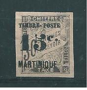 France Colonies Martinique Timbre De 1891/92  N°22 Neuf Sans Gomme - Martinique (1886-1947)