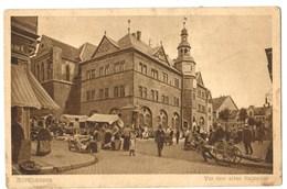 15555    Cpa    NORDHAUSEN  : Vor Dem Alten Rathaus - Muehlhausen