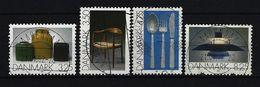DÄNEMARK Mi-Nr. 1006 - 1009 Gebrauchskunst Gestempelt - Gebraucht