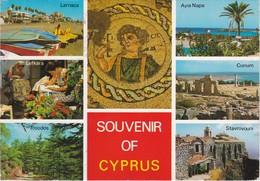 Cartolina - Postcard    - Souvenir Of Cyprus - Cipro - Cipro