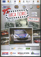 X 95 TARGA FLORIO - HISTORIC RALLY 2011 PROGRAMMA UFFICIALE RRR - Motori