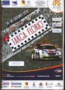 X 96 TARGA FLORIO IRC RALLY CHALLENGE 2012 PRESS BOOK PROGRAMMA UFFICIALE - Motori