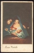 BUON NATALE  - MADONNA CON GESU BAMBINO - VIAGGIATA ANNI 30  (30) - Natale